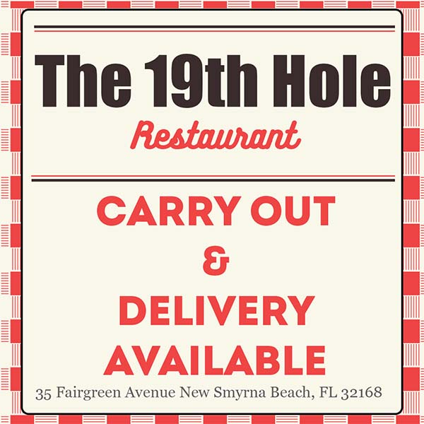 The 19th Hole Restaurant at Hidden Lakes Golf club. Carry out and delivery available! Order now!